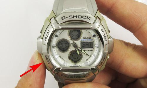デジタル時計の時刻合わせ1