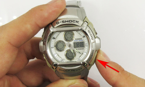 デジタル時計の時刻合わせ3