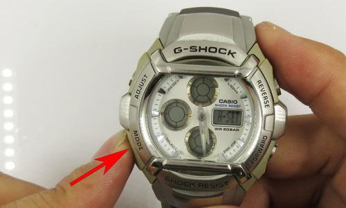 デジタル時計のアナログ針合わせ1