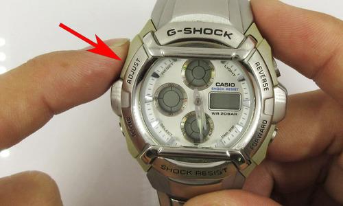 デジタル時計のアナログ針合わせ2