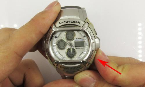 デジタル時計のアナログ針合わせ3