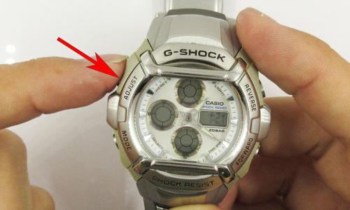 デジタル時計のアナログ針合わせ4