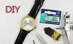 時計の電池交換方法