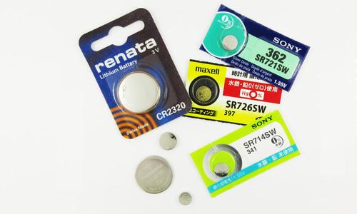 時計用電池の種類