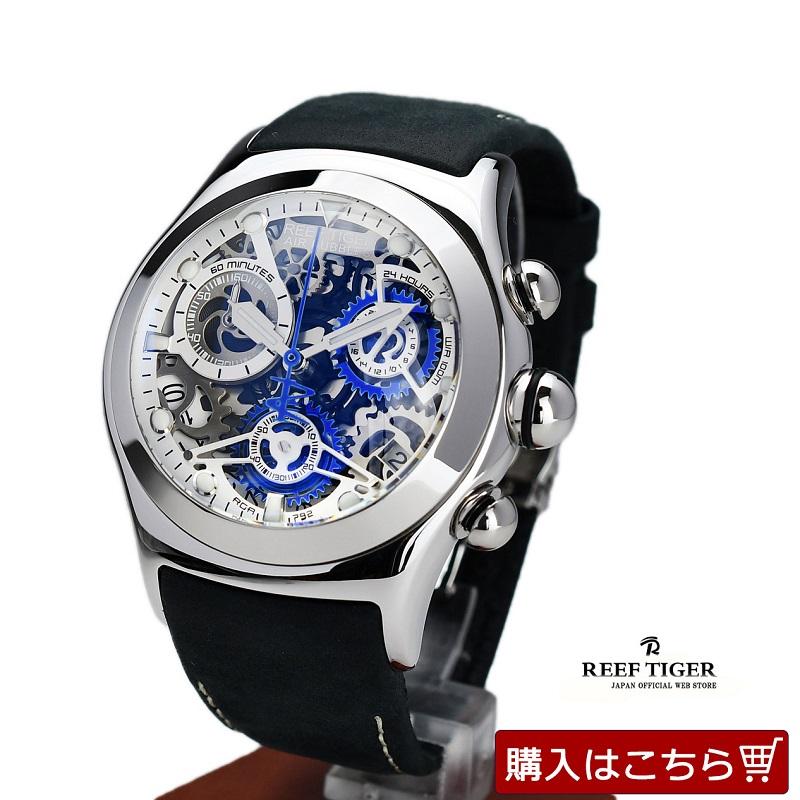 スケルトン腕時計の画像
