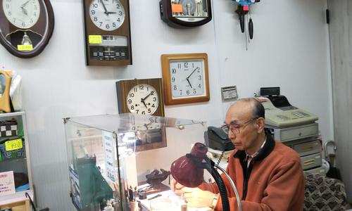 シミズ時計メガネ店の時計修理画像