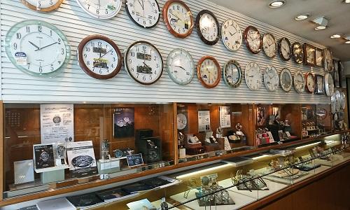 キクチ時計店の店内画像2