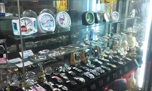 松澤時計店の店内画像その2