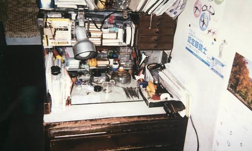フヂヤ時計店の時計修理光景