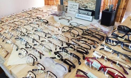 西沢時計店のメガネ取扱品