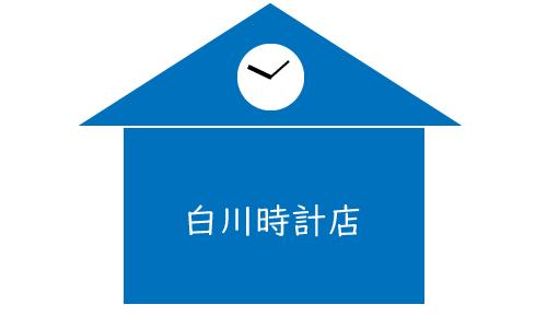 白川時計店の画像