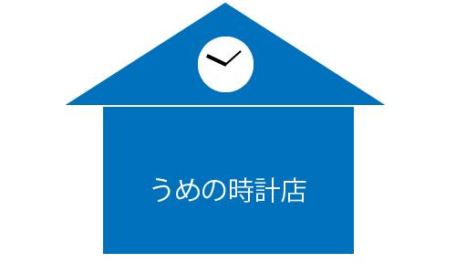 うめの時計店の画像