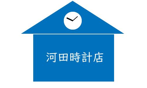 河田時計店の画像