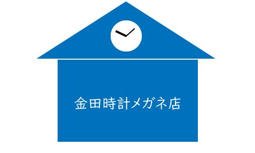 金田時計メガネ店の画像