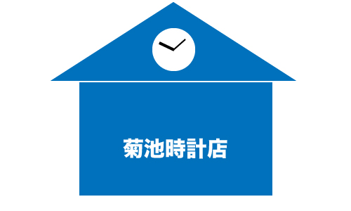 菊池時計店の画像