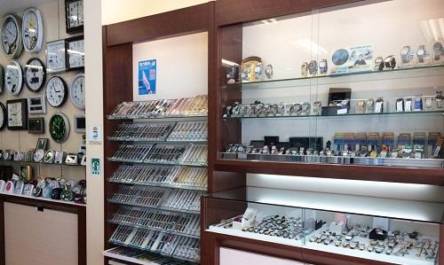オオツカ時計店の店内画像
