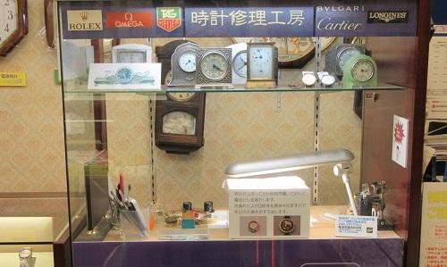 ツキヤ時計店の店内画像