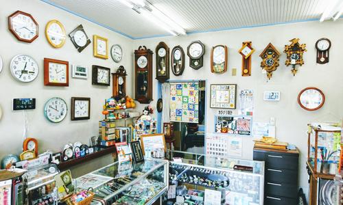 ヤマシタ時計店の店内画像