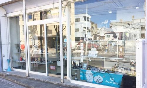 清水時計店の入り口画像
